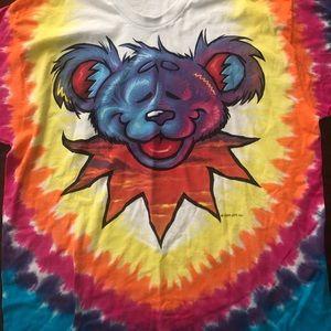 Vintage Grateful Dead tie dye T-shirt A101